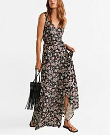 Embossed Flower Dress