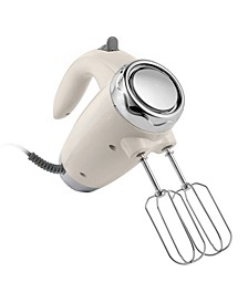 Electric Hand Mixer 6 Speed Retro Looking