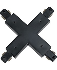 """X"" Connector 120V 2-Circuit/1-Neutral Track Systems"