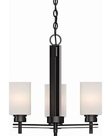 Carena 3-Light Mini Hanging Chandelier