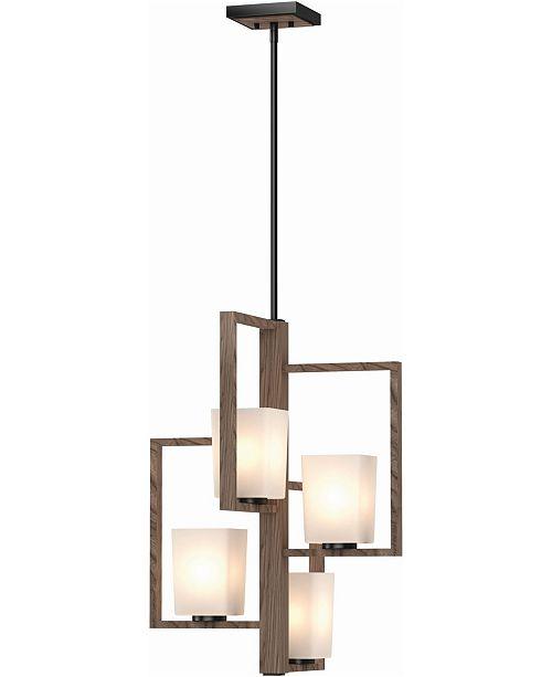 Volume Lighting Paxton 4-Light Chandelier