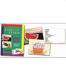 Stages Learning Materials Lang-O-Learn ESL Vocabulary Cards Flashcards, Foods