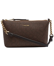 Hayden Signature Chain Strap Crossbody