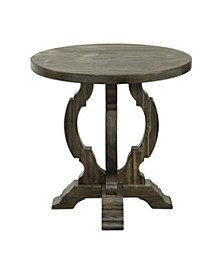 Orchard Park Round Accent Table, Quick Ship