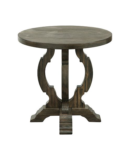 Coast to Coast Orchard Park Round Accent Table, Quick Ship