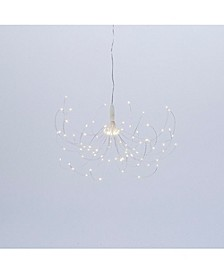 37.8-Inch High Electric Wire Starburst Ornament with Timer Feature
