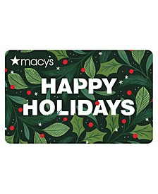 Happy Holidays 19  E-gift Card