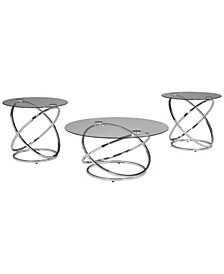 Ashley Furniture Hollynyx Table Set of 3