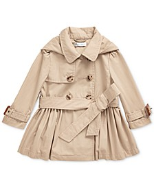 Baby Girls High Density Cotton Trench Coat