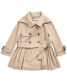 Baby Girls High Density Cotton Trench Coat