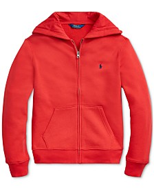 Polo Ralph Lauren Big Boys Fleece Hooded Sweatshirt