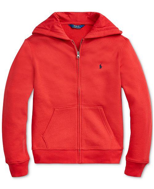 Polo Ralph Lauren Big Boys Fleece Hooded Sweatshirt
