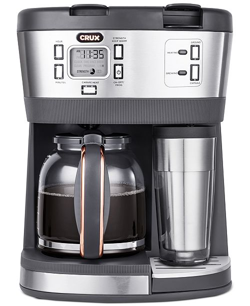Crux Triple Infusion Brew Coffee Maker