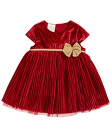Baby Girls Pleated Dress, Created For Macy's