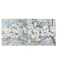 Madison Park Luminous Bloom Gold Foil Floral Hand Embellished Canvas Art