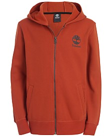 Timberland Big Boys Anthony Fleece Logo Hoodie