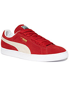 Puma Men's Suede Classic+ Sneakers from Finish Line