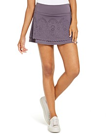 Perforated Skort, Created for Macy's