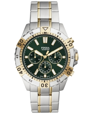 Men's Chronograph Garrett Two-Tone Stainless Steel Bracelet Watch 44mm