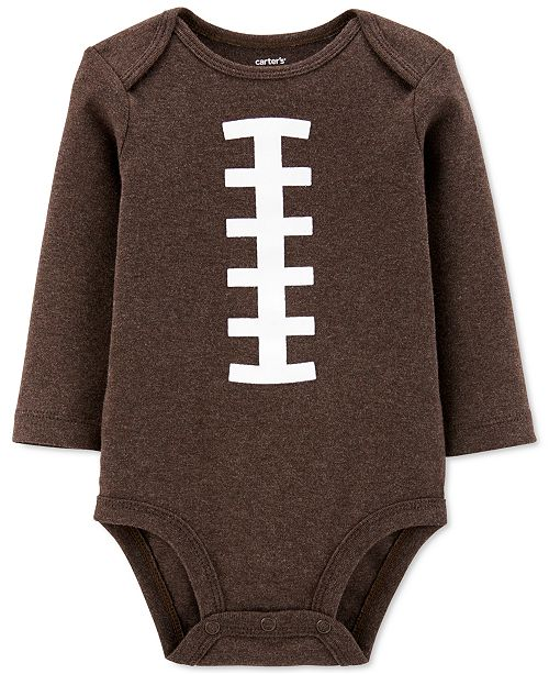 Carter's Baby Boys Cotton Football Bodysuit