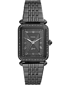 Women's Lyric Black Stainless Steel Bracelet Watch 28mm