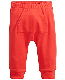 Baby Boys & Girls Kangaroo-Pocket Cotton Jogger Pants, Created For Macy's