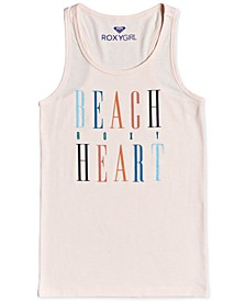 Big Girls Beach Party Racerback Tank Top