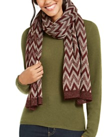 Vince Camuto Chevron Pointelle Knit Wrap