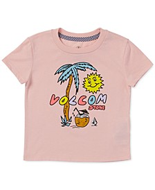Toddler & Little Girls Last Party Logo-Print T-Shirt