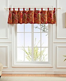 Tivoli Cinnamon Window Valance