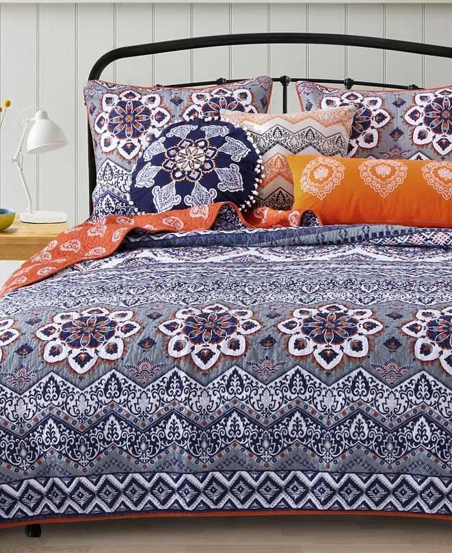 Greenland Home Fashions Medina Bonus Set, 5-Piece Full/Queen