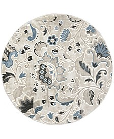 "CLOSEOUT! Global Rug Design York YOR02 Beige 7'10"" Round Area Rug"