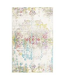 "Jano JAN02 Ivory 7'9"" x 10'2"" Area Rug"