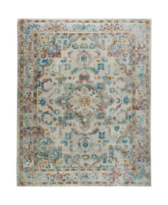 "Parlin Amara Gray 5'3"" x 6'9"" Area Rug"