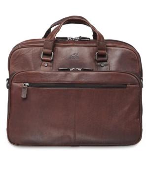 Buffalo Collection Expandable Double Compartment Laptop/ Tablet Briefcase
