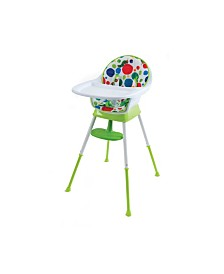 The Very Hungry Caterpillar 3-in-1 Convertible High Chair, Playful Dots - By Creative Baby