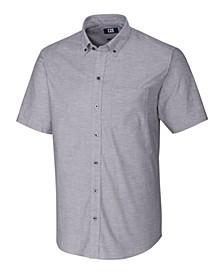 Men's Short Sleeve Stretch Oxford
