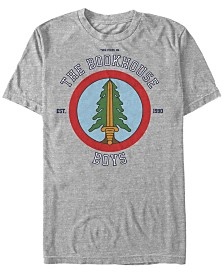 Twin Peaks Men's The Book House Boys Short Sleeve T-Shirt