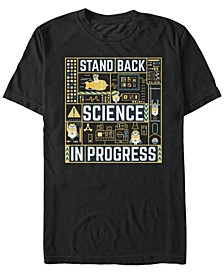 Illumination Men's Despicable Me 3 Stand Back, Science In Progress Short Sleeve T-Shirt