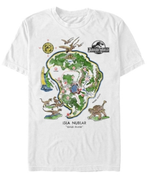 Men's Isla Nublar Cloud Island Short Sleeve T-Shirt