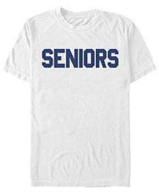 Men's Senior Logo Shor Sleeve T-Shirt