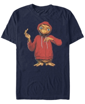 Men's Alien In A Hoodie Short Sleeve T-Shirt