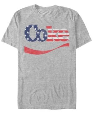 Men's Star-Spangled Coke Swoosh Short Sleeve T-Shirt