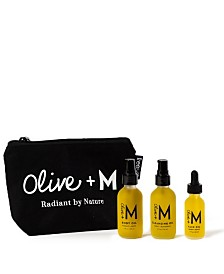 Olive + M Travel And Glow Set