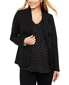 A Pea In The Pod Maternity Blazer