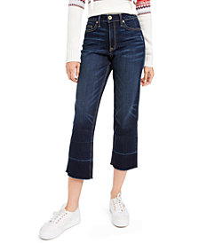 American Rag High-Rise Released-Hem Jeans, Created For Macy's