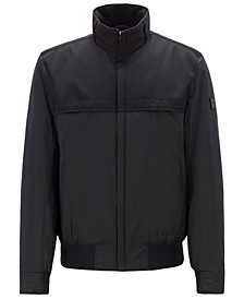 BOSS Men's Jadon22 Water-Repellent Blouson Jacket