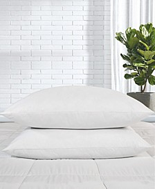 2 Pack Down Feather Bed Pillows, Size- King