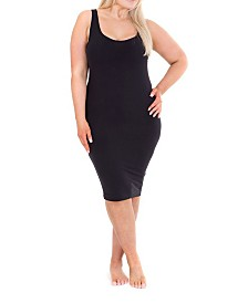 Sonsee Woman Plus Size Singlet Slip