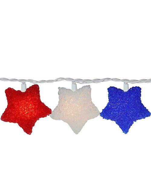 Northlight Fourth of July Star String lights